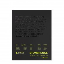 Stonehenge : Aqua Black Watercolor Paper Pad : 140lb (300gsm) : 8x10in : Not