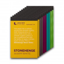 Stonehenge : Paper Pad : 6.3x9.5cm : Sample Set of 10 : 1 Per Order