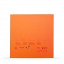Yupo : Medium Watercolor Paper Pad : 74lb (200gsm) : 7x7in : 10 Sheets : White