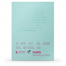 Yupo : Transluscent Watercolor Paper Pad : 104lb (153gsm) : 5x7in : 10 Sheets