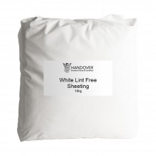 Handover : White Lint Free Sheeting 10 kg Pack