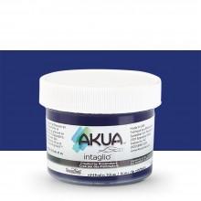 Akua : Intaglio Ink : 2oz : 59ml : Phthalo Blue