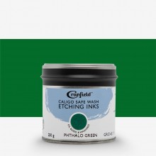 Cranfield : Caligo : Safe Wash : Etching Ink : 250g Tin : Phthalo Green