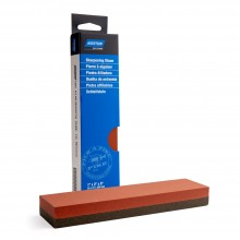India Sharpening Stone : Double Sided Bench Stone : 25x51x204mm