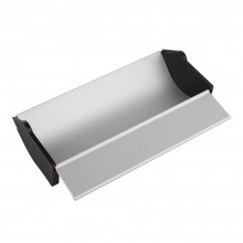 Jackson's : Aluminium Coating Trough : 9 inches : with plastic removable end caps