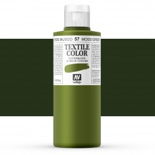 Vallejo : Textile Paint : 200ml : Moss Green