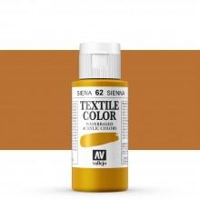 Vallejo : Textile Paint : 60ml : Sienna