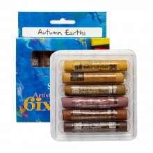 Art Spectrum : Soft Pastel : Set of 6 : Autumn Earths