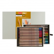 Bruynzeel : Design : Pastel Pencil : Box of 24 : Assorted Colours
