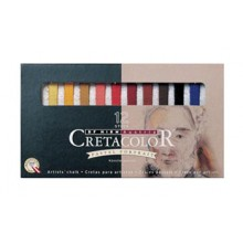 Cretacolor : Carres : Set of 12 : Portrait Colors