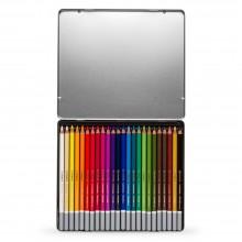 Stabilo : Carbothello : Pastel Pencil : Metal Tin Set Of 24