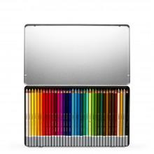 Stabilo : Carbothello : Pastel Pencil : Metal Tin Set Of 36