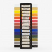 Jackson's : Handmade Soft Pastel : 14 Colours : Basic Starter Set