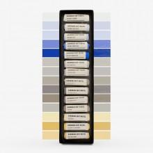 Jackson's : Handmade Soft Pastel : 14 Colors : Sky Set - Cloudy