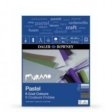 Daler Rowney : Murano : Pastel Pad : 9x12in : Cool Colors