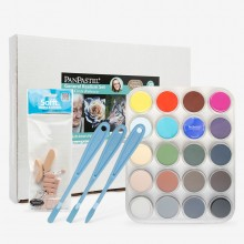 PanPastel : General Realism Set With Kirsty Rebecca : Set of 20 Colours : Plus Tools
