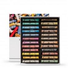 Sennelier : Soft Pastel : Full Stick : Set of 24 : Iridescent Tones