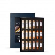 Unison Colour : Soft Pastel : Set of 18 Brown Earth 1-18