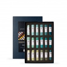 Unison Colour : Soft Pastel : Set of 18 Blue Green Earth