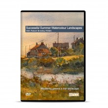 Townhouse : DVD : Successful Summer Watercolor Landscapes : Robert Brindley RSMA