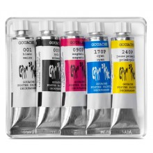 Caran d'Ache : Studio Gouache : Set of 5x10ml Tubes