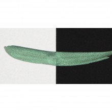 Finetec : Coliro : Pearlcolors : Mica Watercolor Paint : 30mm Refill : Moss Green M007