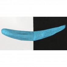 Finetec : Coliro : Pearlcolors : Mica Watercolor Paint : 30mm Refill : Peacock Blue M013