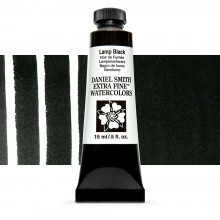 Daniel Smith : Watercolor Paint : 15ml : Lamp Black : Series 1