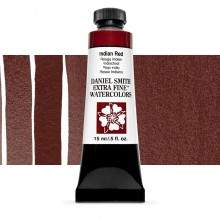 Daniel Smith : Watercolor Paint : 15ml : Indian Red : Series 1