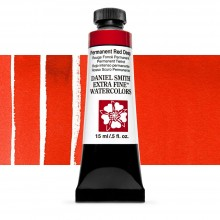 Daniel Smith : Watercolor Paint : 15ml : Permanent Red Deep : Series 1