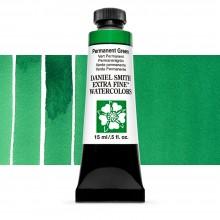 Daniel Smith : Watercolor Paint : 15ml : Permanent Green : Series 1