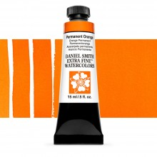 Daniel Smith : Watercolor Paint : 15ml : Permanent Orange : Series 3