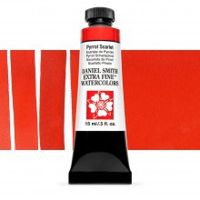 Daniel Smith : Watercolor Paint : 15ml : Pyrrol Scarlet : Series 3