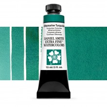 Daniel Smith : Watercolor Paint : 15ml : Ultramarine Turquoise : Series 1