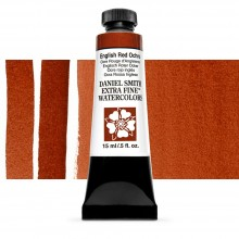 Daniel Smith : Watercolor Paint : 15ml : English Red Ochre : Series 1