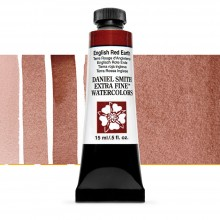 Daniel Smith : Watercolor Paint : 15ml : English Red Earth : Series 1