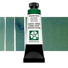 Daniel Smith : Watercolor Paint : 15ml : Cascade Green : Series 1