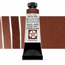 Daniel Smith : Watercolor Paint : 15ml : Enviro-friendly Red Iron Oxide : Series 2