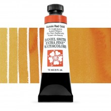 Daniel Smith : Watercolor Paint : 15ml : Aussie Red Gold : Series 2