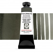 Daniel Smith : Signature Series Watercolor Paint : 15ml : Alvaro's Caliente Grey : Series 2