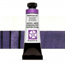 Daniel Smith : Watercolor Paint : 15ml : Interference Lilac : u Series 1