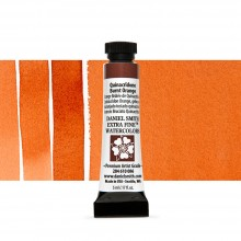 Daniel Smith : Watercolor Paint : 5ml : Quinacridone Burnt Orange