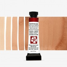 Daniel Smith : Watercolour Paint : 5ml : Burnt Sienna Light : Series 1