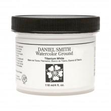Daniel Smith : Watercolor Paint Ground : 118ml (4oz) : Titanium White