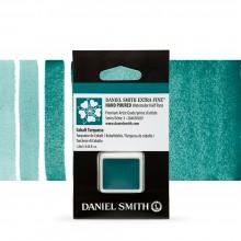 Daniel Smith : Watercolour Paint : Half Pan : Cobalt Turquoise : Series 3