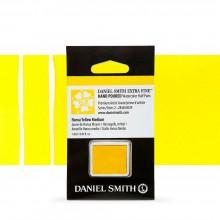 Daniel Smith : Watercolour Paint : Half Pan : Hansa Yellow Medium : Series 2