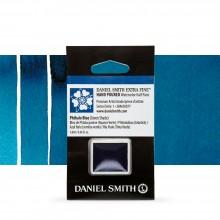 Daniel Smith : Watercolour Paint : Half Pan : Phthalo Blue (Green Shade) : Series 1