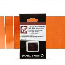 Daniel Smith : Watercolour Paint : Half Pan : Quinacridone Burnt Orange : Series 2
