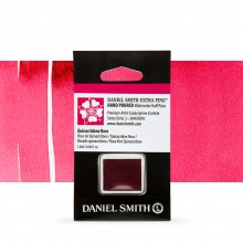 Daniel Smith : Watercolour Paint : Half Pan : Quinacridone Rose : Series 2