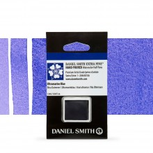 Daniel Smith : Watercolour Paint : Half Pan : Ultramarine Blue : Series 1